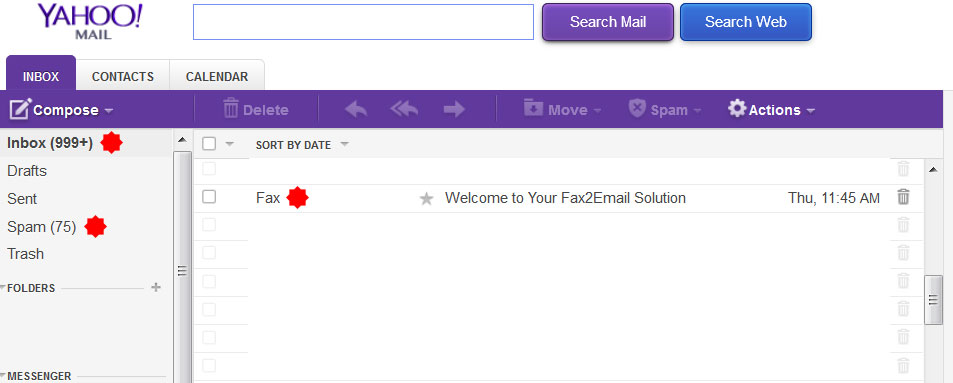 yahoo free yahoo fax to email